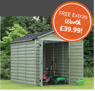 Plastic Garden Sheds And Storage