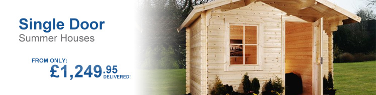 Single door Summerhouses