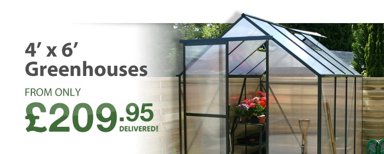 View all of our 4' x 6' Greenhouses below
