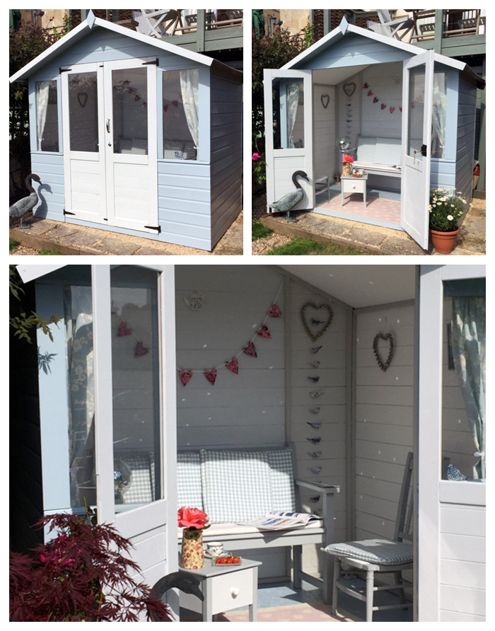 15 Ideas For Decorating A Summerhouse On Walton Garden
