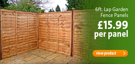 Click here - 6ft. Lap Garden Fence Panels