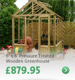 Click here - 6' x 8' Wooden Greenhouse