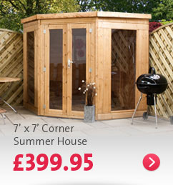 Click here - 7' x 7' Corner Summer House