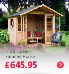Click here - 8' x 8' Sussex Summer House