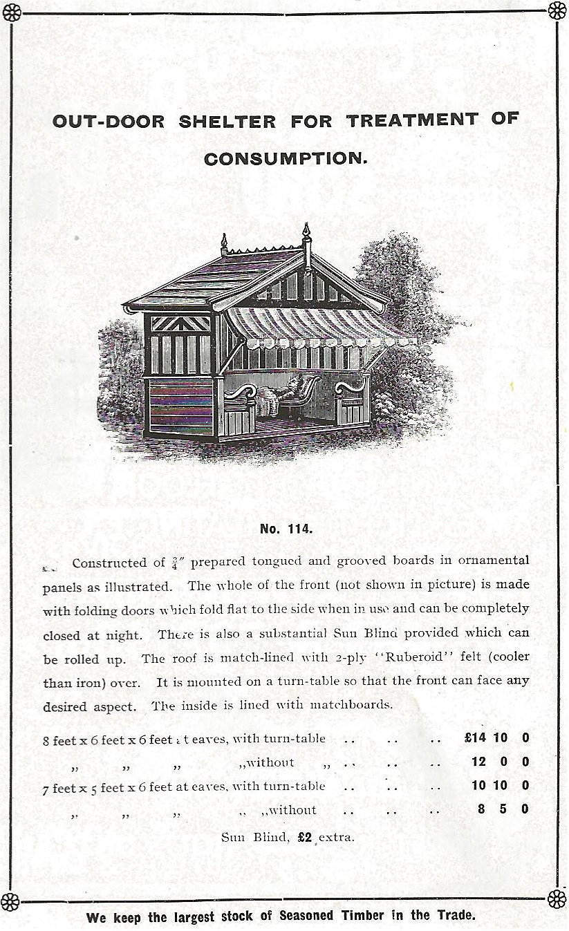 Walton Victorian Summerhouse Advert